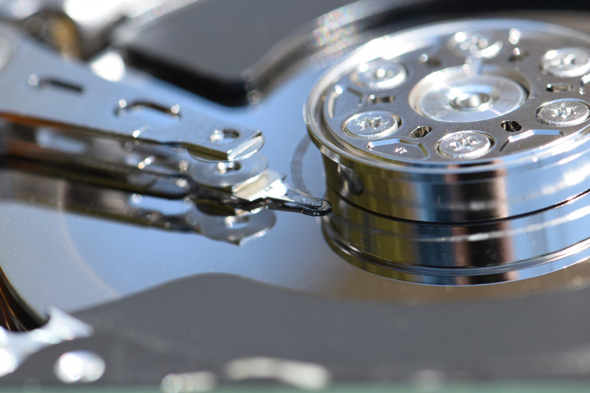 head crash hard disk
