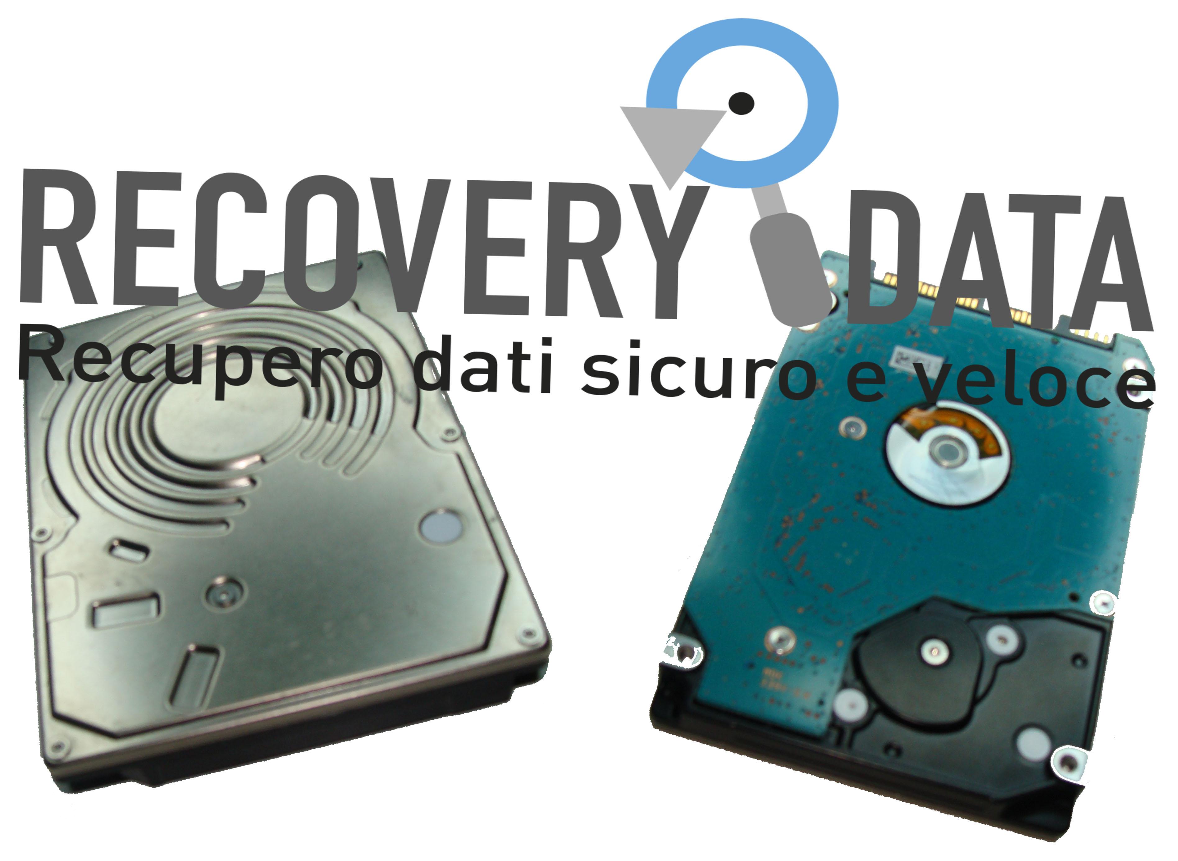 recupero dati hard disk senza etichetta