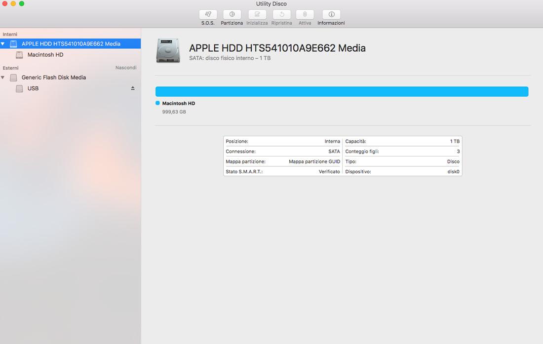 guida formattazione hard disk per Mac
