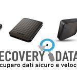 Recupero dati hard disk esterno rotto