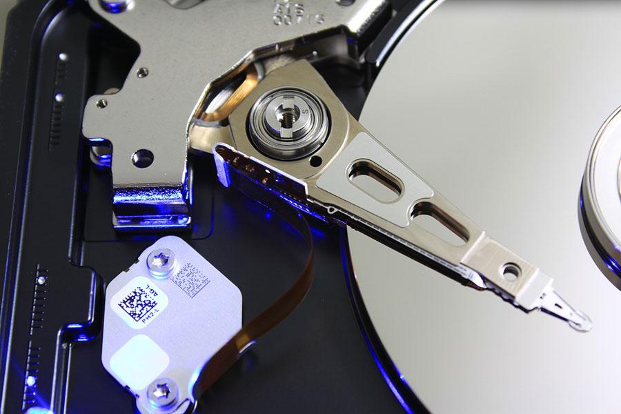 HDD formattato