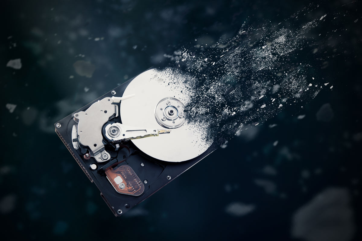 Danno meccanico hard disk